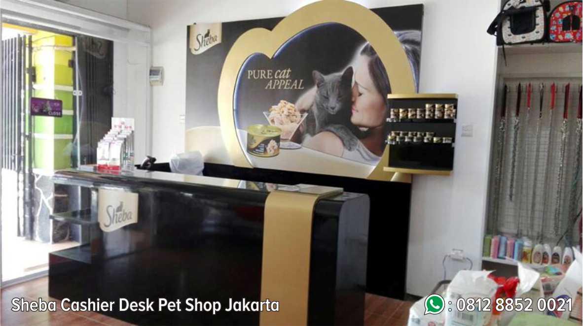 2. Sheba Cashier Desk Pet Shop Jakarta