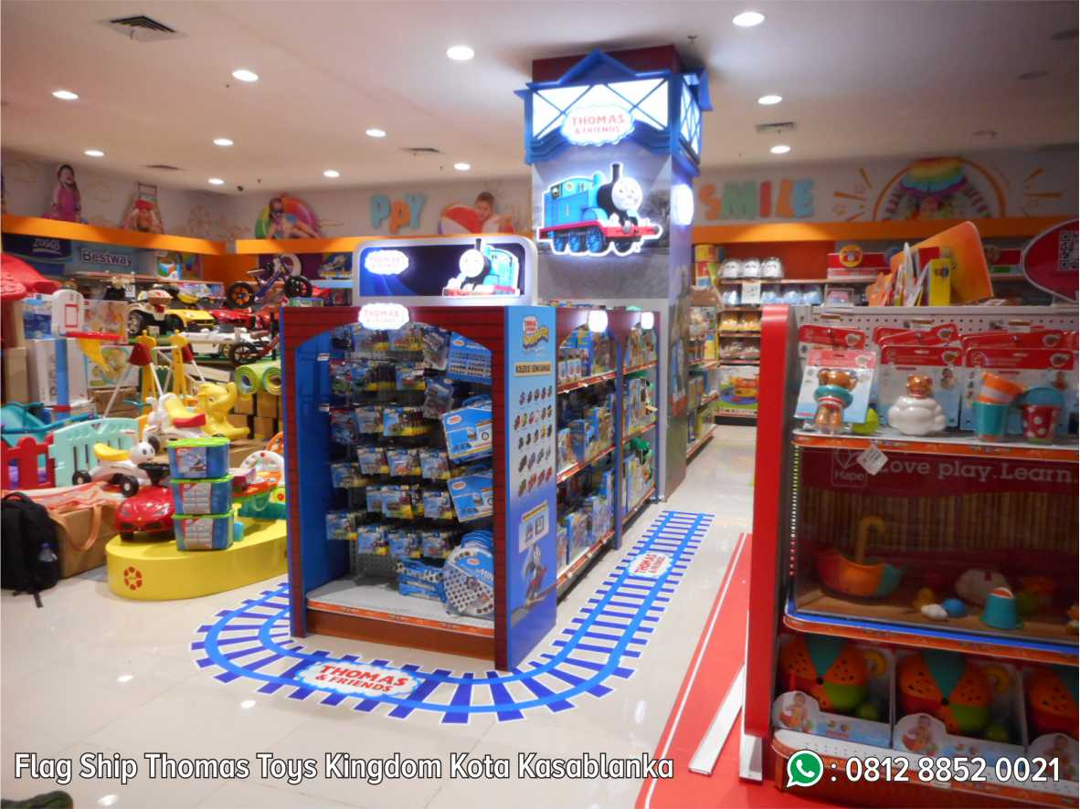 44. Flag Ship Thomas Toys Kingdom Kota Kasablanka