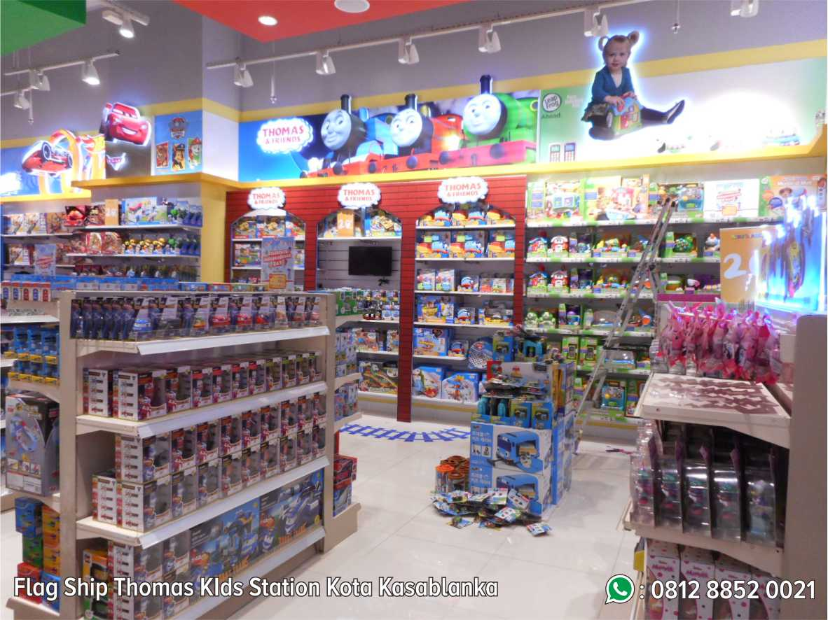 46. Flag Ship Thomas Kids Station Kota Kasablanka