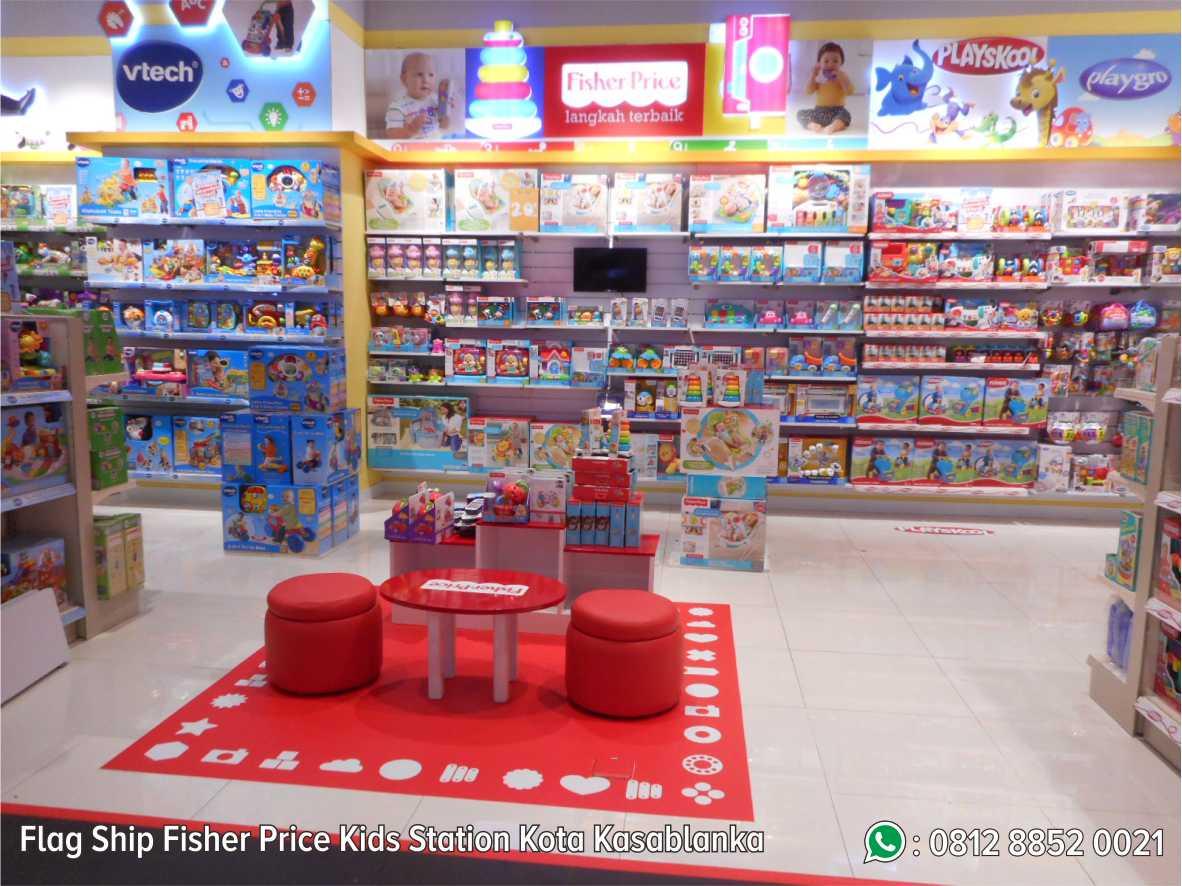 48. Flag Ship Fisher Price Kids Station Kota Kasablanka