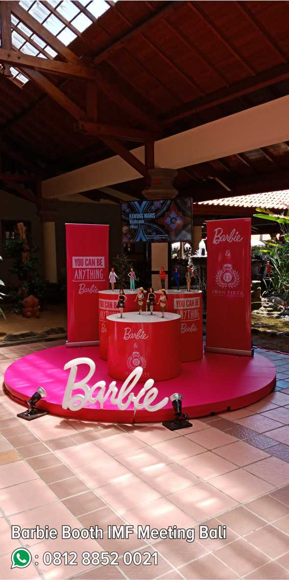 51. Barbie Booth IMF Meeting Bali