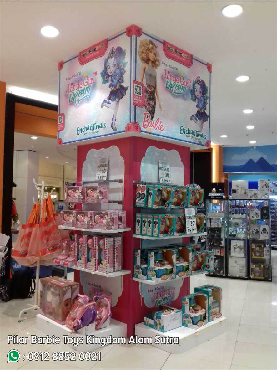 52. Pilar Barbie Toys Kingdom Alam Sutra