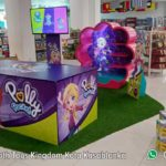56. Poly Pocket Booth Toys Kingdom Kota Kasablanka