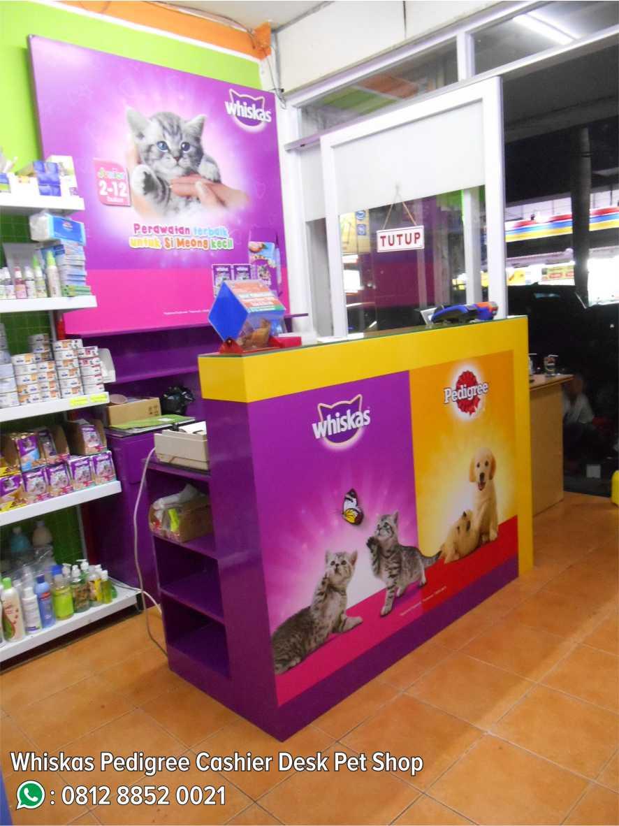 6. Whiskas Pedigree Cashier Desk Pet Shop